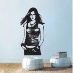 สติกเกอร์ติดผนัง Avril Lavigne Wall Decal