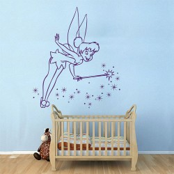 Tinker Bell Vinyl Wall Art Decal (WD-0221)