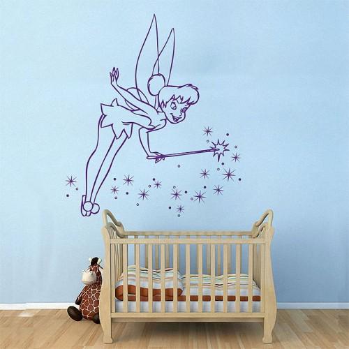 สติกเกอร์ติดผนัง Tinker Bell Wall Sticker