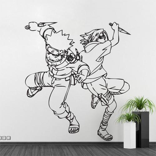สติกเกอร์ติดผนัง ภาพ การ์ตูน Naruto Wall Decal