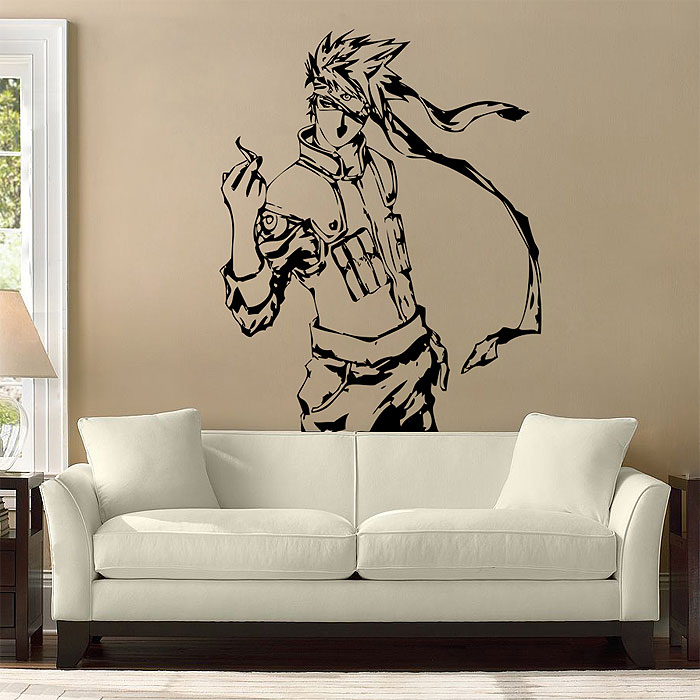 Tattoo Wall Art kakashi from naruto vinyl wall art decal
