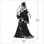 สติกเกอร์ติดผนัง Lulu From Final Fantasy X Wall Sticker
