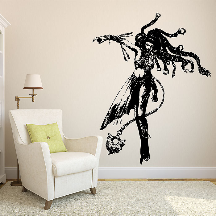 Tattoo Wall Art from final fantasy x vinyl wall art decal