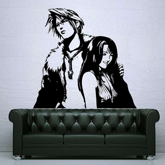 Tattoo Wall Art and rinoa final fantasy vinyl wall art decal