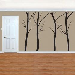 สติกเกอร์ติดผนัง Large Tree without Leaf  Wall Sticker (WD-0234)