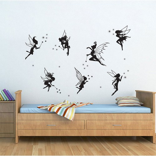Fairies Vinyl Wall Art Decal