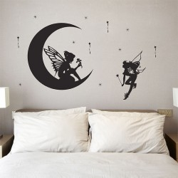 สติกเกอร์ติดผนัง Beautiful Fairy Wall Sticker (WD-0239)