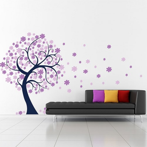 Blossom Large Tree Vinyl Wall Art Decal