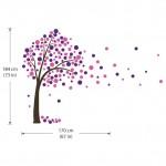 สติกเกอร์ติดผนัง Blossom Tree Wall Decal