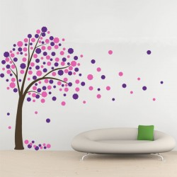 Blossom Tree Vinyl Wall Art Decal (WD-0245)
