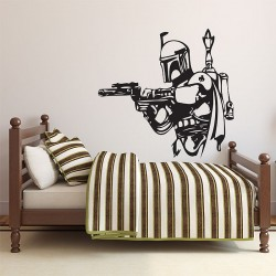 Star Wars Boba Fett Vinyl Wall Art Decal (WD-0247)