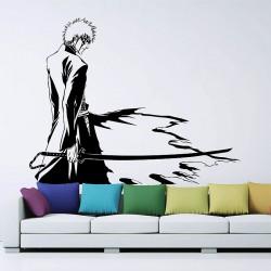สติกเกอร์ติดผนัง Bleach Kurosaki Ichigo Wall Sticker (WD-0249)