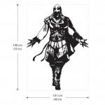 สติกเกอร์ติดผนัง Assassin's Creed #2 Wall Sticker
