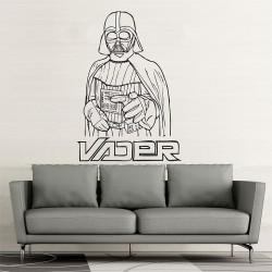 สติกเกอร์ติดผนัง Star Wars Dart Vader #2 Wall Sticker (WD-0251)