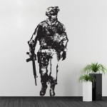 Call of Duty  Video Game Vinyl Wall Art Decal