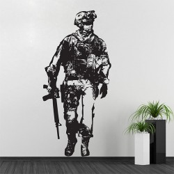 Call of Duty  Video Game Vinyl Wall Art Decal (WD-0266)