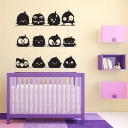 สติกเกอร์ติดผนังLittle Chick Cute Wall Sticker (WD-0270)