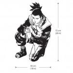 สติกเกอร์ติดผนัง การ์คูน นารูโตะ Nara Shikamaru Wall Sticker