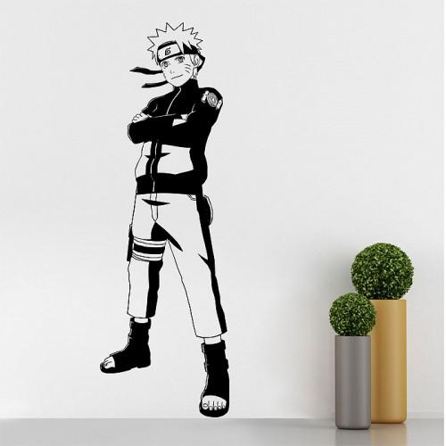สติกเกอร์ติดผนัง นารูโตะ นินจาจอมคาถาNaruto Uzumaki Wall Sticker