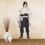 สติกเกอร์ติดผนัง อุจิวะ ซาสึเกะ นารูโตะ นินจาจอมคาถา Uchiha Sasuke Naruto Wall Sticker