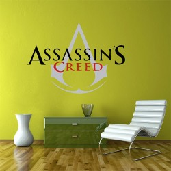 Assassin's Creed Logo Vinyl Wall Art Decal (WD-0295)