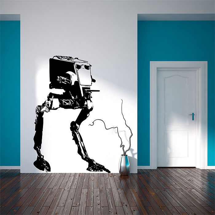 & star wars at-st walker Vinyl Wall Art Decal