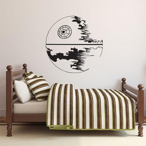 Star wars death star vinyl wall art decal - Wall art wandtattoo ...