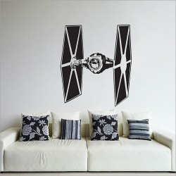 Star Wars TIE Fighter Vinyl Wall Art Decal (WD-0304)