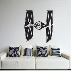 สติกเกอร์ติดผนัง Star Wars TIE Fighter Wall Sticker (WD-0304)