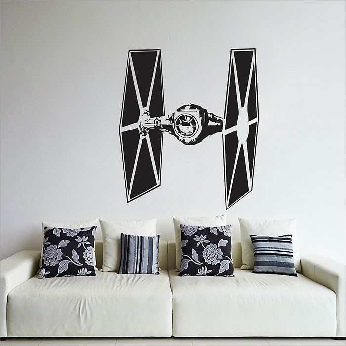 Tattoo Wall Art wars tie fighter vinyl wall art decal