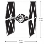 Star Wars TIE Fighter Vinyl Wall Art Decal