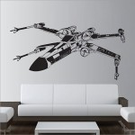 Star Wars X-Wing Fighter Vinyl Wall Art Decal