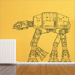Star Wars AT-AT Walker Wandaufkleber Wandtattoo (WD-0306)