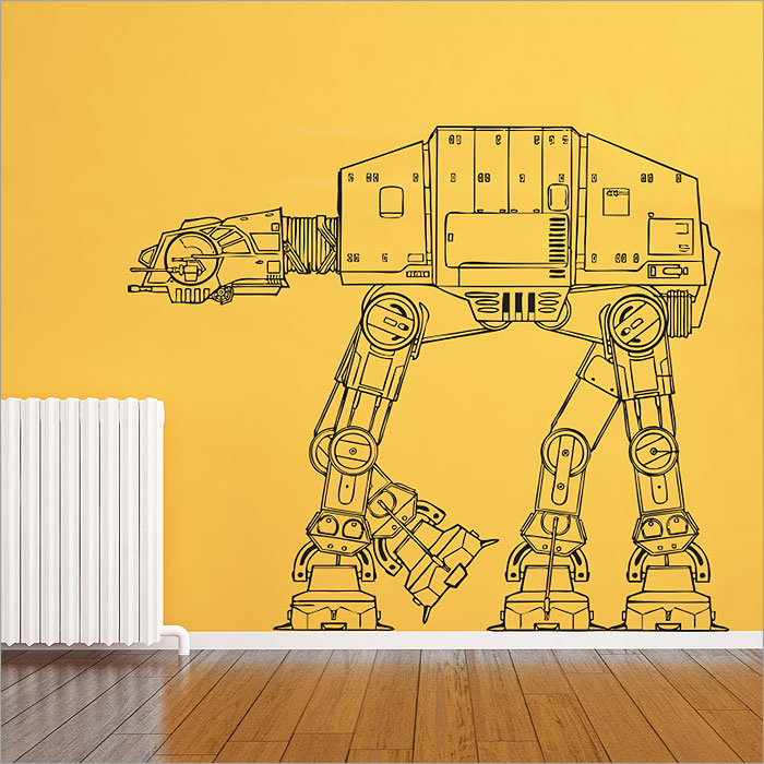 Star Wars AT-AT Walker Vinyl Wall Art Decal