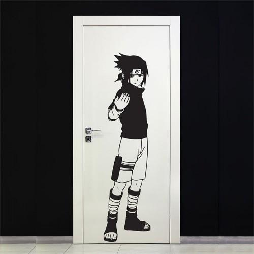 สติกเกอร์ติดผนัง Uchiha Sasuke - Naruto Wall Sticker