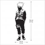 สติกเกอร์ติดผนัง นินจานารูโตะ Kakashi Hatake Naruto Wall Sticker