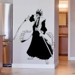 สติกเกอร์ติดผนัง บลีช เทพมรณะKenpachi Zaraki  Wall Sticker