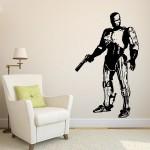 สติกเกอร์ติดผนัง โรโบคอป Robocop Movie Wall Sticker