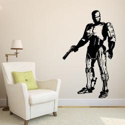 สติกเกอร์ติดผนัง Robocop Movie Wall Sticker (WD-0313)