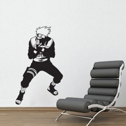 สติกเกอร์ติดผนัง Kakashi Hatake the first of team of Naruto Wall Sticker (WD-0315)