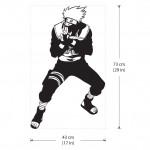 Kakashi Hatake von Naruto Anime Wandaufkleber Wandtattoo