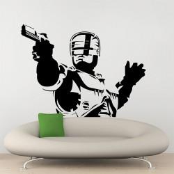 สติกเกอร์ติดผนัง Robocop Riot Cyborg Wall Sticker (WD-0316)