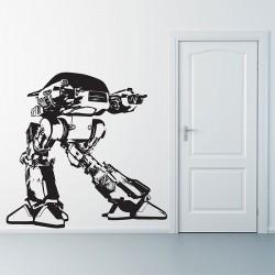 สติกเกอร์ติดผนัง ภาพ โรโบคอป Robocop ED209  Wall Sticker (WD-0321)