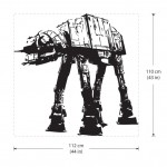 AT-AT Walker Star Wars V.1 Vinyl Wall Art Decal