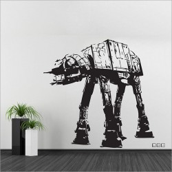 AT-AT Walker Star Wars V.1 Vinyl Wall Art Decal (WD-0331)