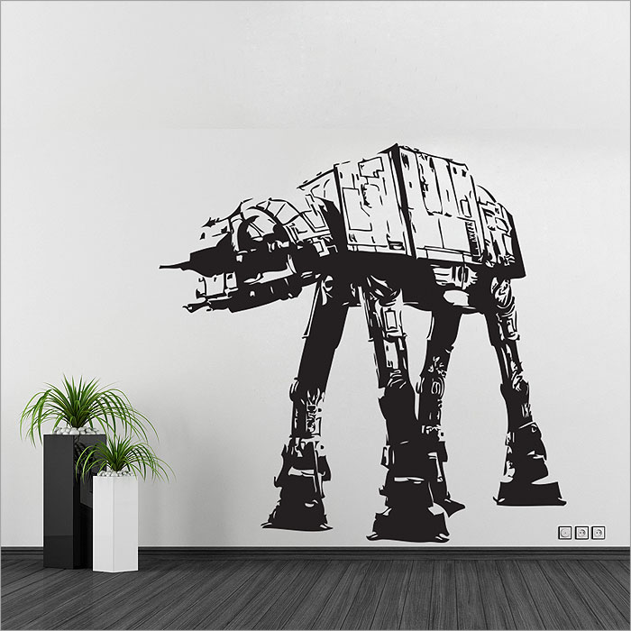 Tattoo Wall Art at walker star wars v.1 vinyl wall art decal