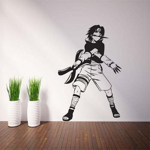 สติกเกอร์ติดผนัง Sasuke Uchiha - Naruto Wall Sticker