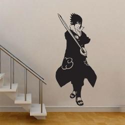 สติกเกอร์ติดผนัง นินจานารูโตะ  Shippuden Sasuke - Naruto Wall Sticker (WD-0335)
