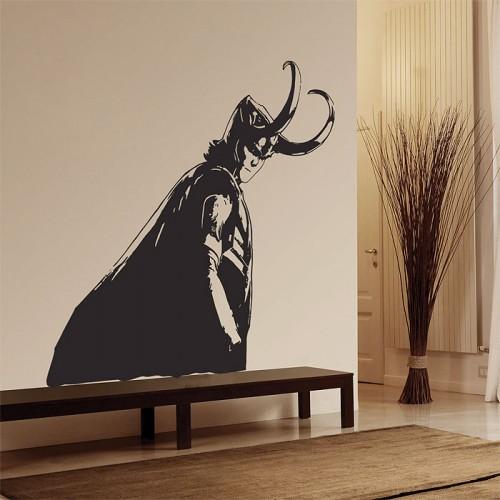 สติกเกอร์ติดผนัง Loki Avengers Wall Sticker