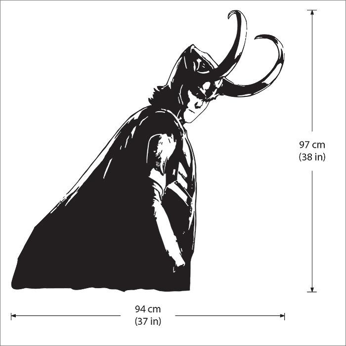 Avengers Vinyl Wall Art Decal - Vinyl wall decals avengers